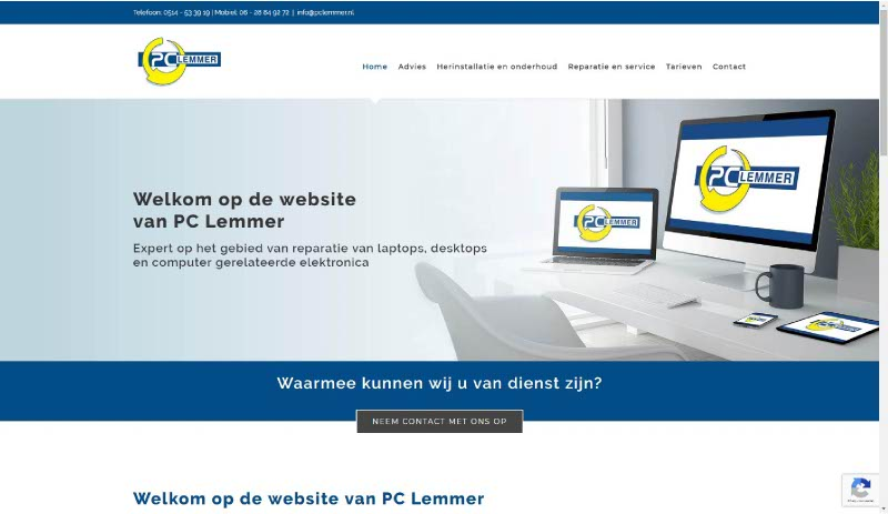 Webzeker Webdesign | PC Lemmer