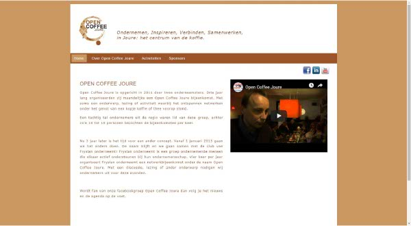 Portfolio Webzeker Webdesign | Open Coffee