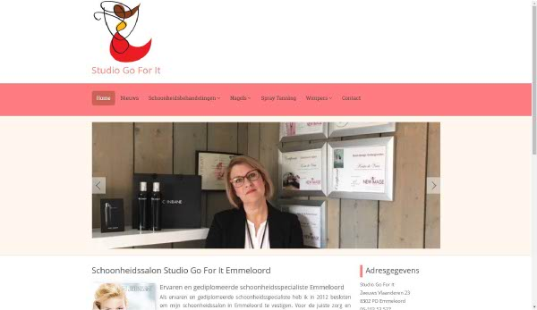 Portfolio Webzeker Webdesign | Studio Go for It